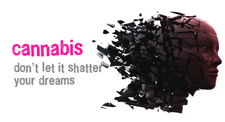 Cannabis: don't let it shatter your dreams
