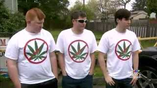 Students told anti pot T shirts send wrong message